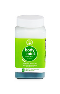 Body Mint - For Fresh Breath and Body All Day Long (New Look/Label!)