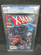 X-Man #39 (1998) Terry Kavanagh Story CGC 9.8 White Pages E398