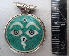 Nice! Tibet Tibetan Buddhist Amulet Dorje & Buddha Eyes
