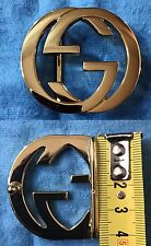 FIBBIA PER CINTURA BUCKLE FOR BELT GUCCI ORO PICCOLA SWEET GOLD