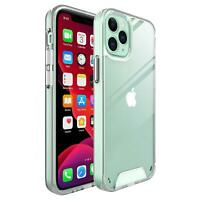 For Apple iPhone 12 Pro Max SE 2020 XR XS 7 8 Clear Armour Shockproof Case Cover