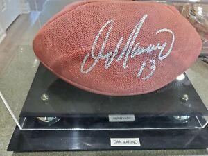Dan Marino Signed Pro NFL Wilson Football COA