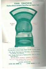 Triner Scales Brochure 1930s Do Your Know Do You Use Us Post Office