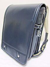 Japanese Backpack Randoseru School Bag Dark Blue From Japan