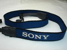 Genuine SONY camera / camcorder strap -  Blue  #0019141