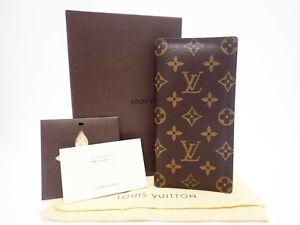 Authentic LOUIS VUITTON Monogram Long Wallet M61823 Valuer Browns