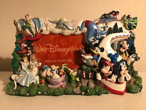 Walt Disney World Vintage Picture Frame
