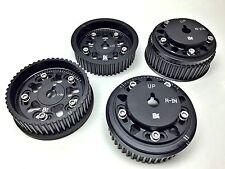 Brian Crower BC8860B Adjustable Cam Gears for Subaru EJ205 EJ257 BLACK Set of 4