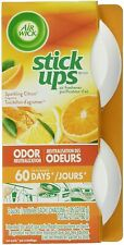 Air Wick Stick Ups Air Freshener Sparkling Citrus Scented. Room Car Truck 2Stick