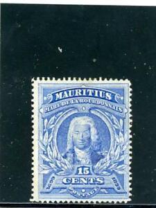 Mauritius 1899 Scott# 115 mint og hinged