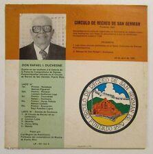 CIRCULO DE RECREO DE SAN GERMAN / CONCURSO DE DANZAS-FINALISTAS // RECORD / MINT