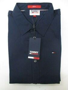TOMMY Hilfiger Jeans Stretch Shirt Mens  SIZE L REF CN361* R