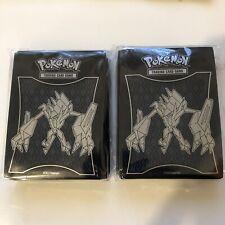 POKEMON 2 Necrozma Card Sleeves SEALED PACK! SM Burning Shadows Trainer Box