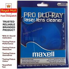 Maxell Pro Blu-ray Bd/dvd Laser Lens Head Cleaner Also Cleans Ps3