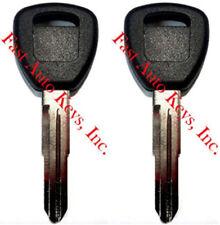 2 New Honda/Acura Transponder Chipped Key Blank Hd106Pt 692246 35113-Sy8-A03(Fits: Acura Cl)