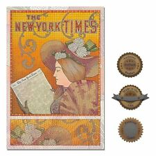 "13""×19"" Historic Art Poster ~ Reproduction: Nouveau The New York Times Newspaper"