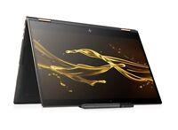 """HP Spectre x360 15.6"""" 4K UHD TouchScreen i7-8705G 8GB 512GB SSD Rx Vega"""