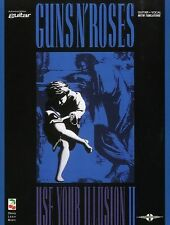Guns N Roses Use Your Illusion II Learn to Play Rock Guitar TAB Music Book SLASH