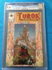 Turok #1 - Valiant - CGC 9.6 NM+ - Chromium cover