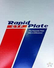 """Polyester plates / Laser Plates 12"""" x 18""""  Rapid Plate"""