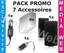 Apple Iphone 3G 3Gs - Pack PROMO 7 accessoires