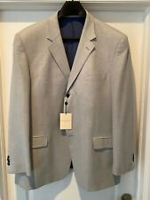 NWT Arnold Brant wool / silk sport coat Size 50L- light blue