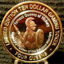 """4 Queens """"Amazon Warrior Queen Hippo"""" Clad Silver Strike / Blue Cap / Las Vegas"""