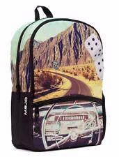 Mojo Classic Cruisin Car Riding Driving Dashboard Punk School Book Bag Backpack