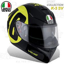 CASCO INTEGRALE MOTO AGV K3 K-3 SV PLK TOP REPLICA VALENTINO ROSSI BOLLO #46