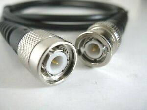 BNC to TNC Male RG58 C/U Coax Coaxial RF Jumper Patch Cable 5m RF UK Stock