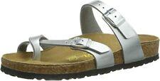 Birkenstock Mayari Women's Silver Birko-Flor with EVA Sole Comfort Sandals US 8