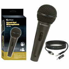 Sansai Dynamic Professional Vocal Microphone Corded Mic for PA Speaker Studio