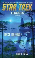 Star Trek: Legacies #2: Best Defense by David Mack (Paperback, 2016)