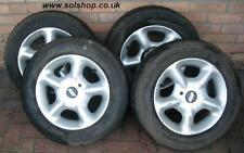 "Honda CRX Delsol ESi VTi SiR  Civic Wolfrace Wheels 14"" 100 PCD E35"