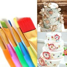 6Pcs/set Fondant Cake Brush Decor Painting Icing Set Dusting DIY Pastry Tools