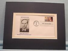 Holocaust Hero - Raoul Wallenberg and the First Day Cover of his own stamp