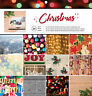 American Crafts CHRISTMAS 12x12 Paper Pad (24) Sheets (12) Designs PHOTO REAL