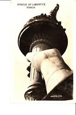 Statue Of Liberty's Torch   Real Photo  @ 1940