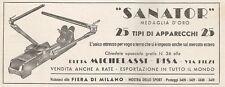 W1580 Attrezzo per voga SANATOR - Pubblicità del 1937 - Old advertising