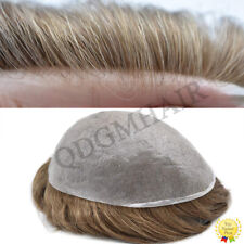 Ultra Thin Skin Mens Toupee Hairpiece Invisible Poly PU Hair Replacement Systems
