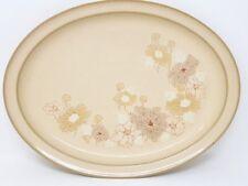 """Denby Sandalwood 14"""" x 10.75"""" Large Oval Serving Platter - 2nd"""