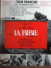 Le Film Français N°1167 (4 nov 1966) La Bible