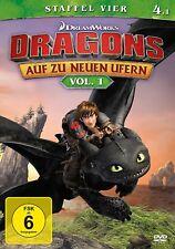Dragons - Auf zu neuen Ufern - Season/Staffel 4 / Vol.1 # DVD-NEU