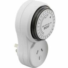DOSS MMT24V2 24 Hour Mechanical Analogue Timer