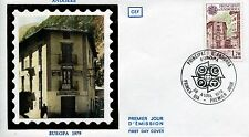 FDC PREMIER JOUR ANDORRE 1979 TIMBRE N° 277 EUROPA BUREAU DE POSTE