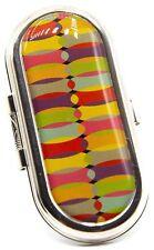 Rainbow Bend Vintage Snap Clip On Lipstick Holder