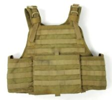 "Eagle Allied Industries 1000D MJK Khaki Tan ""C"" S/M Plate Carrier Vest SOCOM SF"