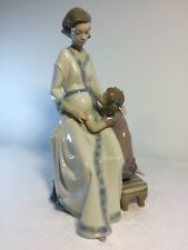 Lladro Figurine 5650 Great Expectations, Mint, Retired 1993, Mother, Girl