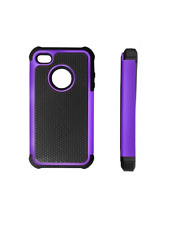 Custodia / Paraurti Nero e Viola ~ Apple iPhone 4 / iPhone 4S