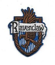 Harry Potter House of Ravenclaw Crest British Logo Embroidered Patch Style 2 NEW